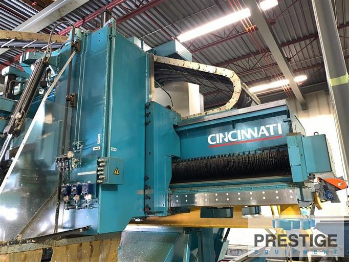 CINCINNATI High Performance 3-Spindle 5-Axis CNC Gantry Profiler-29961h