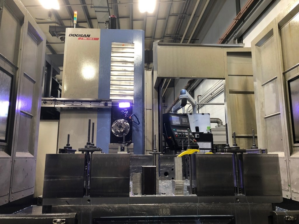 Doosan-DBC-110-II-4.33-CNC-Table-Type-Horizontal-Boring-Mill