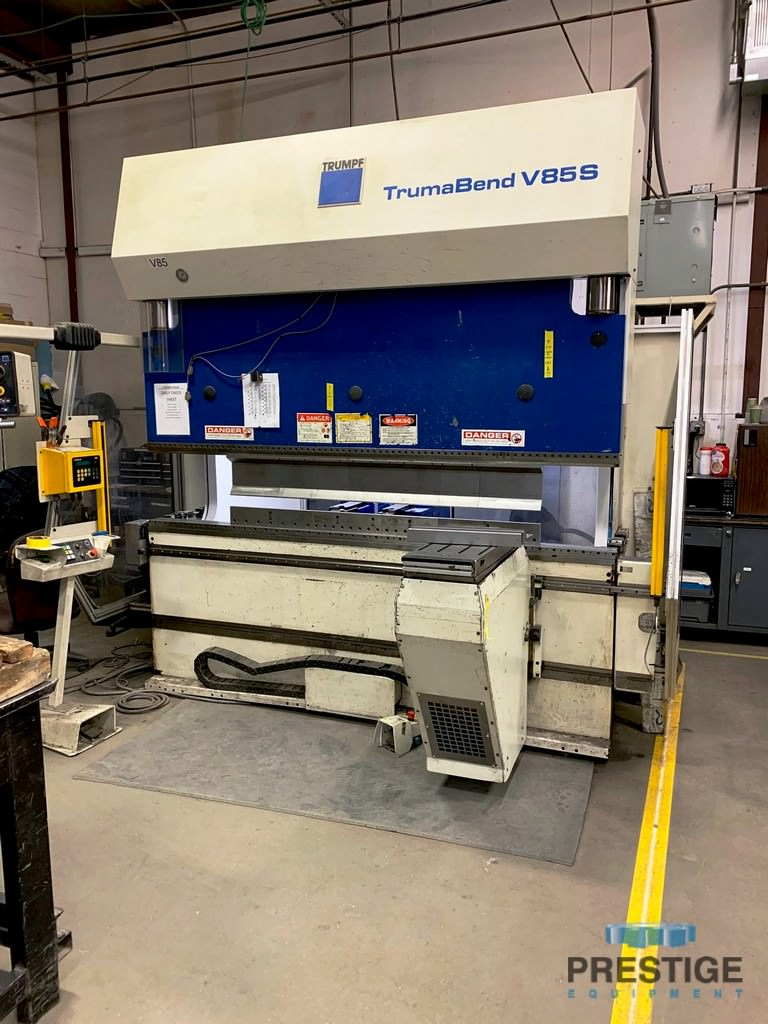 Trumpf-V85S-95-Ton-8-Axis-CNC-Hydraulic-Press-Brake
