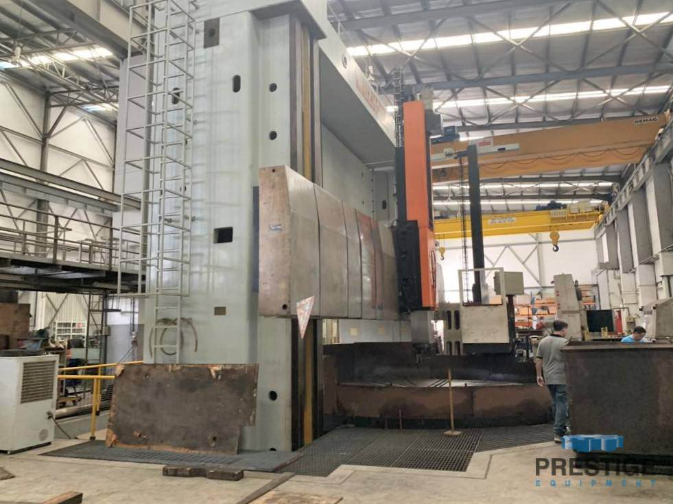Wuhan-CKX-248-CNC-Vertical-Boring-Mill-with-Live-Spindle