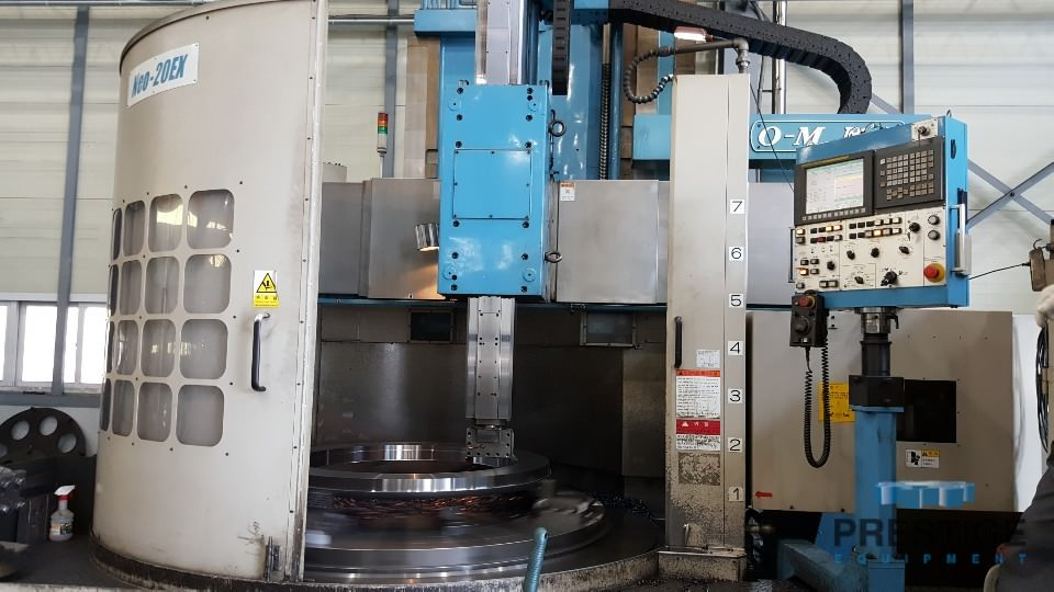 O-M-Ltd-Neo-20EX-78-CNC-Vertical-Boring-Mill