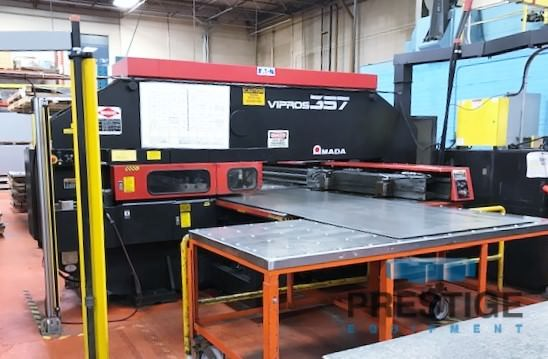 Amada-Vipros-357-Queen-33-Ton-CNC-Turret-Punch-Press