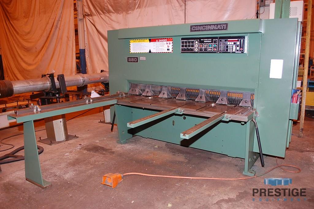 Cincinnati-1-4-x-6-250-Hydraulic-Squaring-Shear