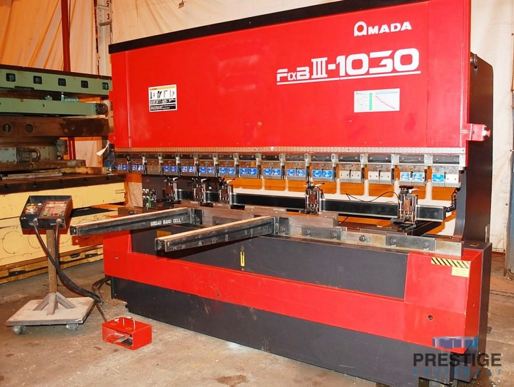 Amada-FBD-1030LDR-110-Ton-x-10-CNC-Up-acting-Press-Brake