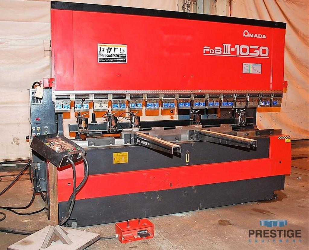 Amada FBD 1030LDR 110 Ton x 10' CNC Up-acting Press Brake-30070a