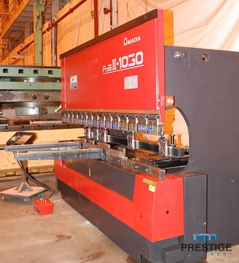 Amada FBD 1030LDR 110 Ton x 10' CNC Up-acting Press Brake-30070b