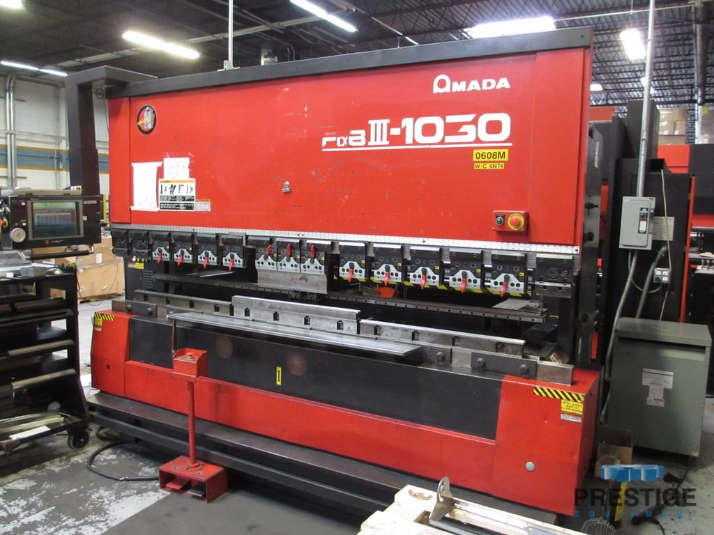 Amada-FBDIII-1030-NT-110-Ton-7-Axis-CNC-Upacting-Hydraulic-Press-Brake
