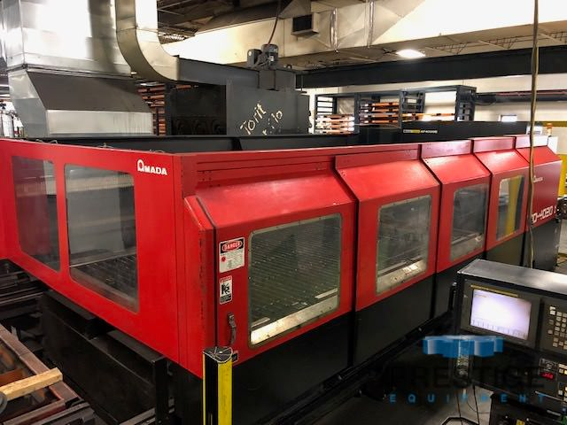 AMADA-FO-4020-4000-Watt-Flying-Optic-C02-CNC-Laser