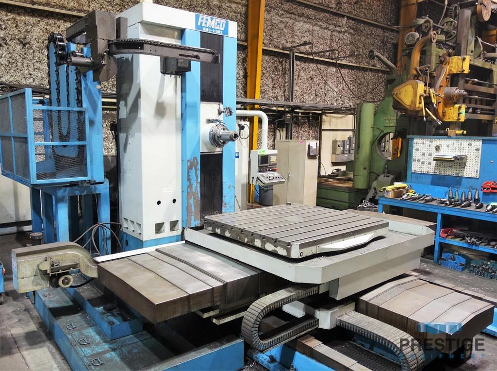 Femco-BMC-110R2-4.33-CNC-Table-Type-Horizontal-Boring-Mill