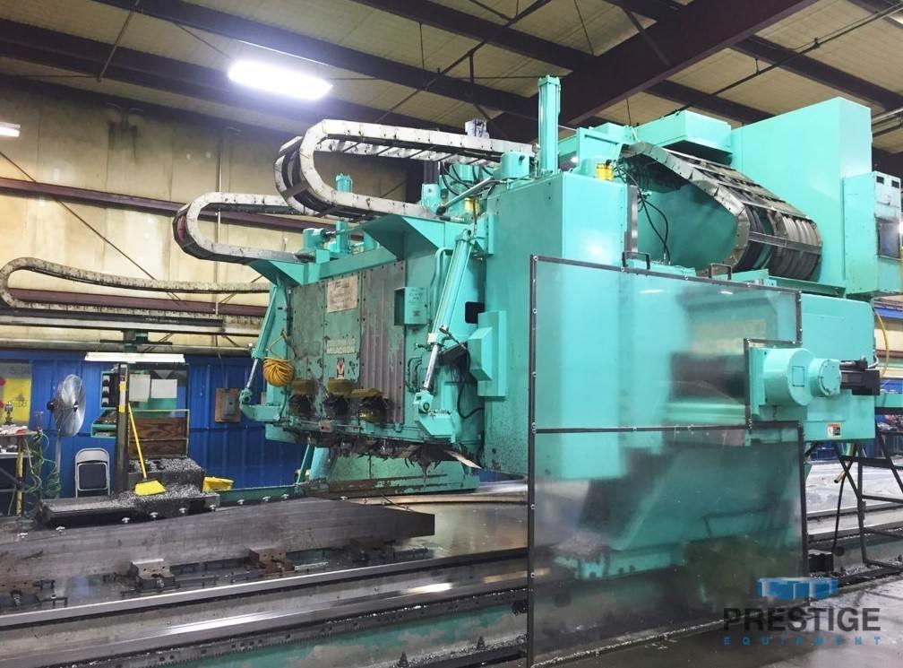 Cincinnati 5-Axis 3-Spindle CNC Gantry Mill -30124a