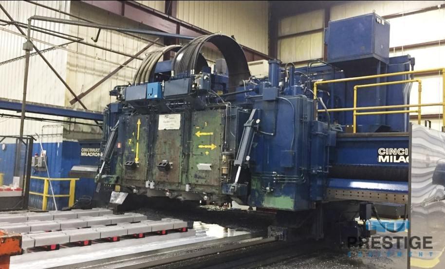 Cincinnati 5-Axis 3-Spindle CNC Gantry Mill -30130a