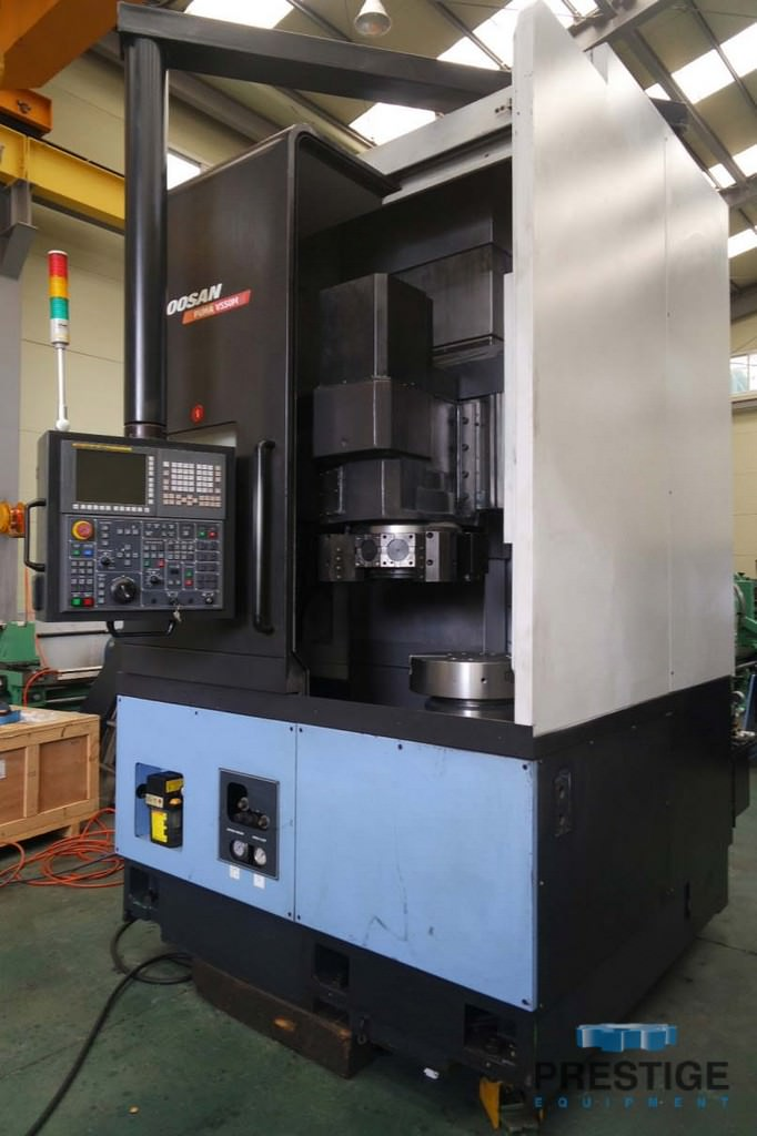 Doosan-Puma-V-550M-CNC-Vertical-Turning-Center