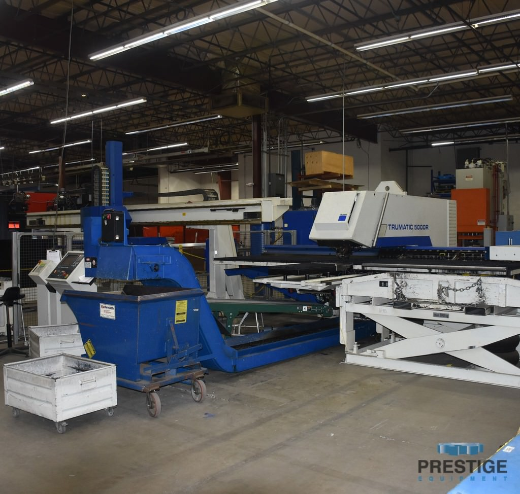 Trumpf-TC5000-25-Ton-CNC-Turret-Punch-Press-w-Load-Unload