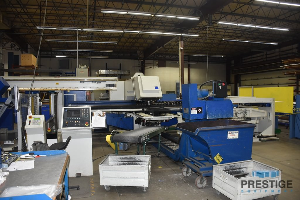 Trumpf TC5000 25 Ton CNC Turret Punch Press w/ Load/Unload
