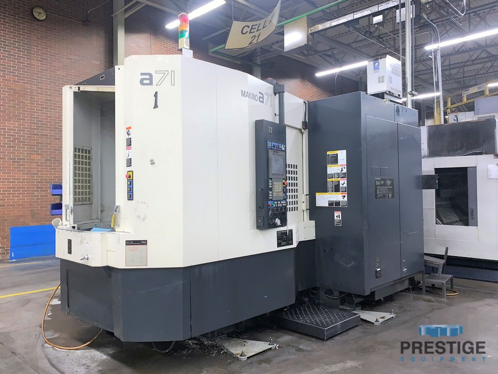 Makino-A71-4-Axis-CNC-Horizontal-Machining-Center