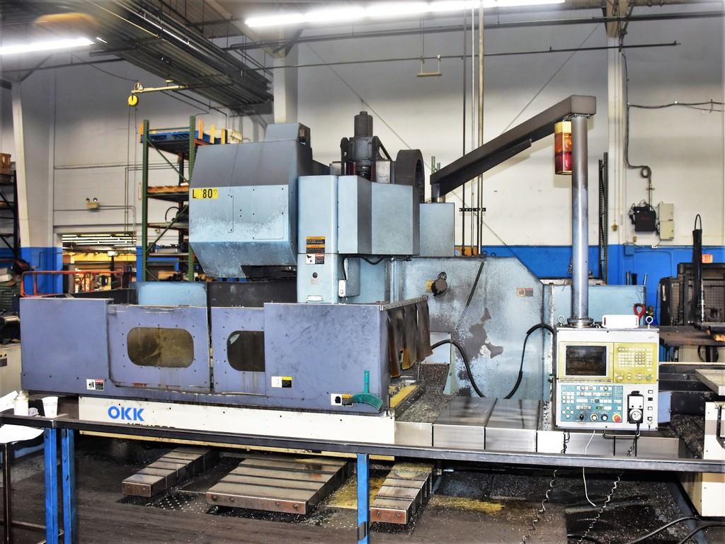 OKK-MCV-1060-CNC-Vertical-Machining-Center