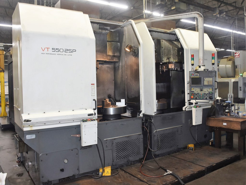 Hwacheon-VT-550-2SP-Twin-Spindle-CNC-Vertical-Lathe