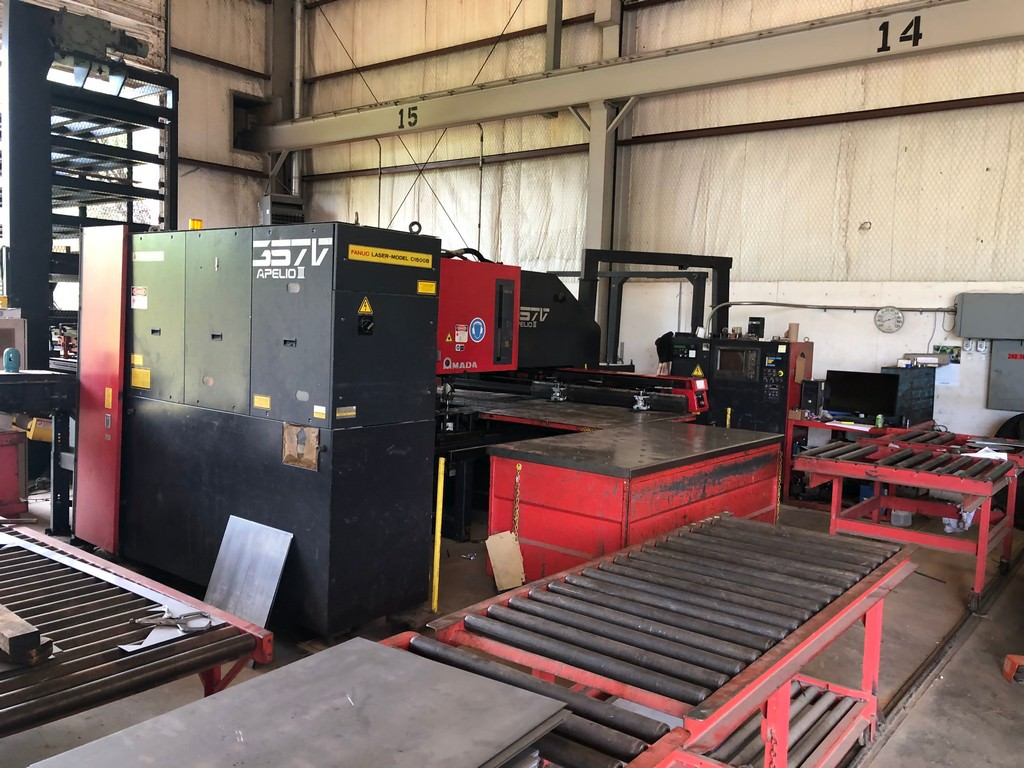Amada-357V-Apelio-III-Punch-Laser-with-FMS-System