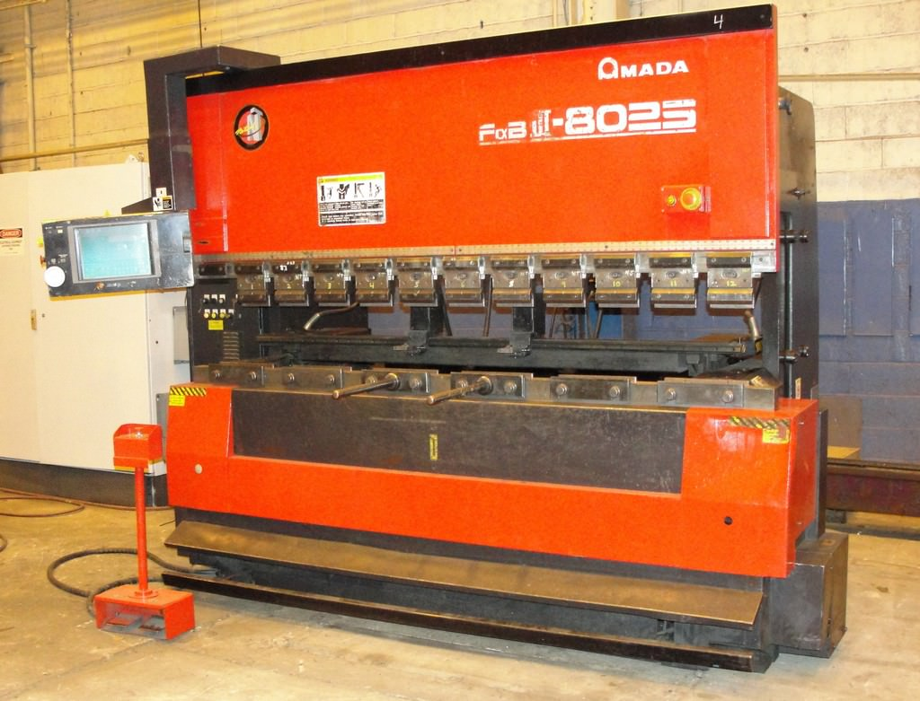 Amada-FBDIII-8025-7-Axis-CNC-Up-acting-Hydraulic-Press-Brake