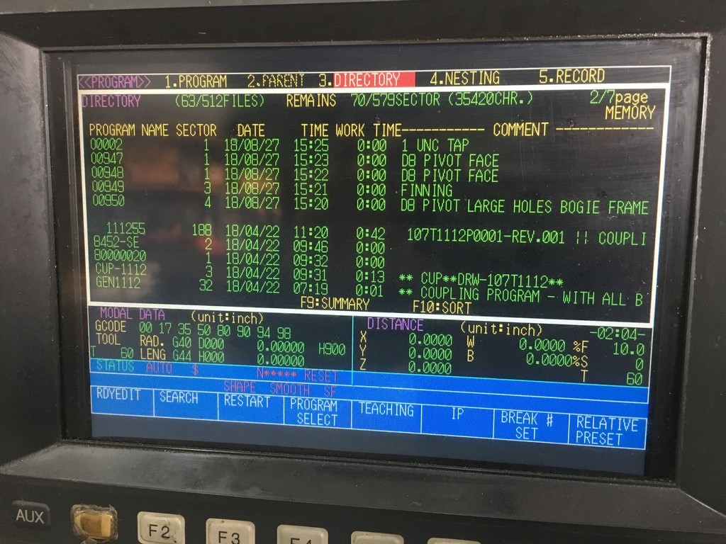 Toshiba BP-150.R22 150 MM  CNC Table Type Horizontal Boring Mill-30229d