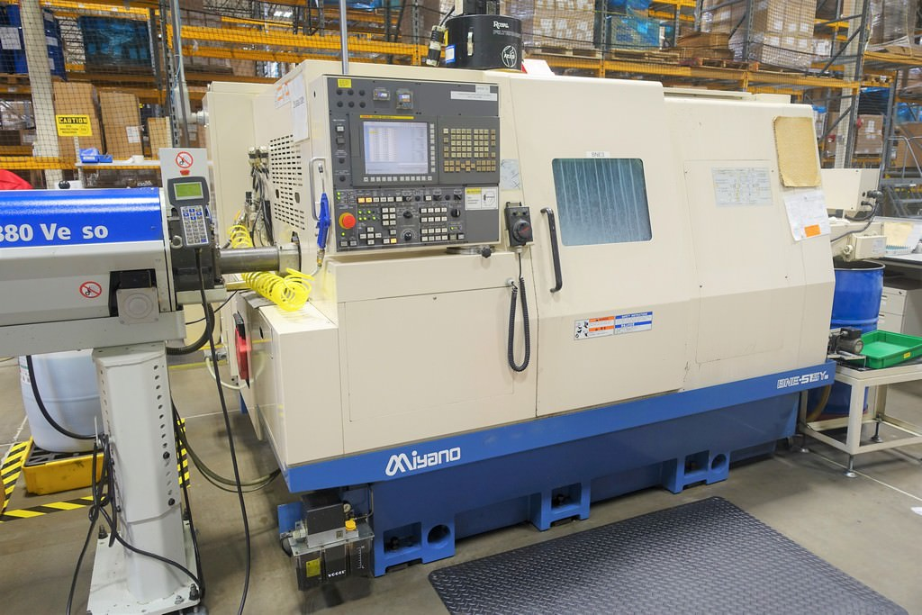 Miyano-BNE-51SY5-CNC-Slant-Bed-Turning-Center