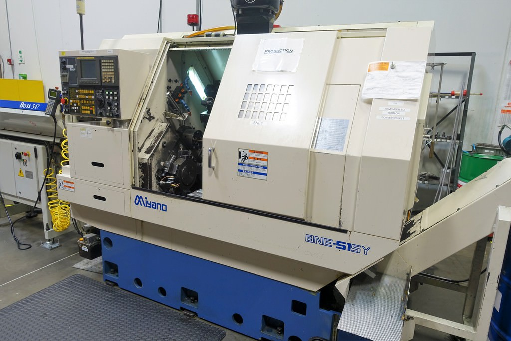 Miyano-BNE-51SY-CNC-Slant-Bed-Turning-Center
