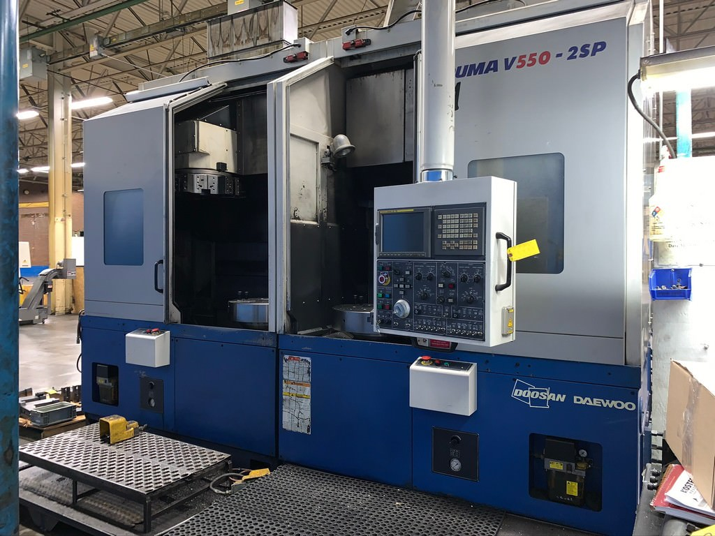 Doosan-Puma-V550-2SP-Twin-Spindle-CNC-Vertical-Turning-Center