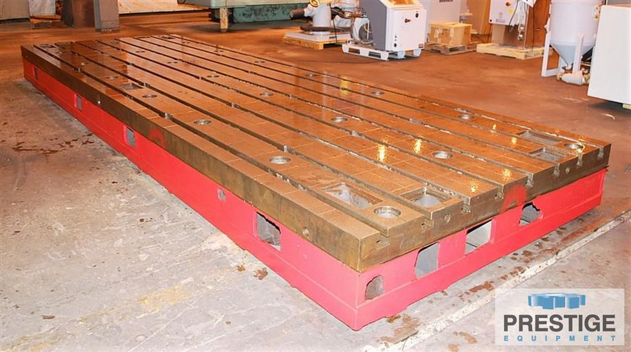 T-Slotted-Floor-Plates-(9)-78-x-236-x-15.75-Cast-Iron-Construction