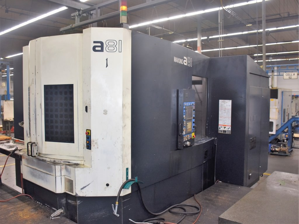Makino-A81-CNC-Horizontal-Machining-Center