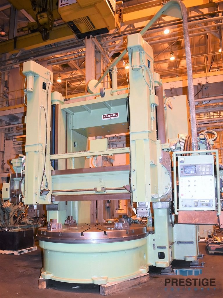 Farrel-4-Axis-CNC-96-Vertical-Boring-Mill