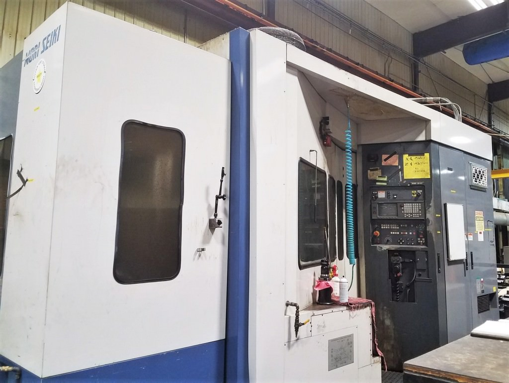 Mori-Seiki-MH-63-CNC-Horizontal-Machining-Center