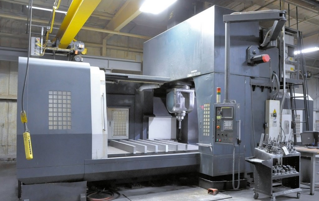 JOHNFORD-DMC-3100SH-5-Axis-CNC-Double-Column-Vertical-Machining-Center