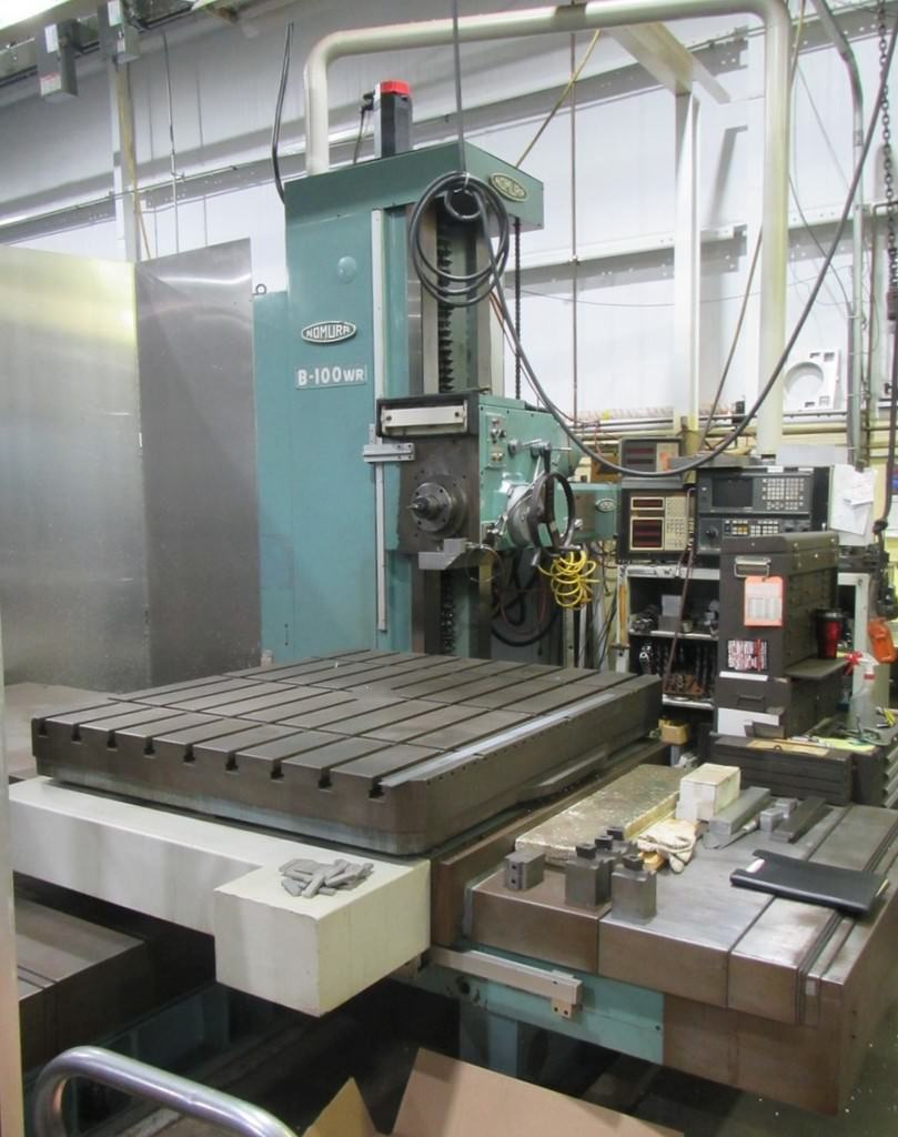 Nomura-B-100WR-4-CNC-Table-Type-Horizontal-Boring-Mill