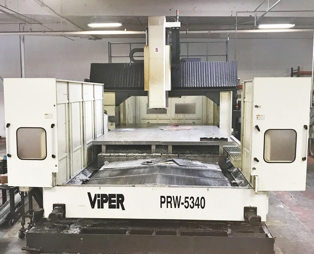 Mighty Viper PRW-5340 3-Axis CNC Bridge Type Vertical Machining Center-30289b