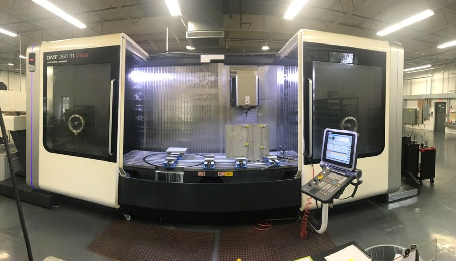 DMG-Mori-DMF260-11-Linear-5-Axis-CNC-Vertical-Machining-Center