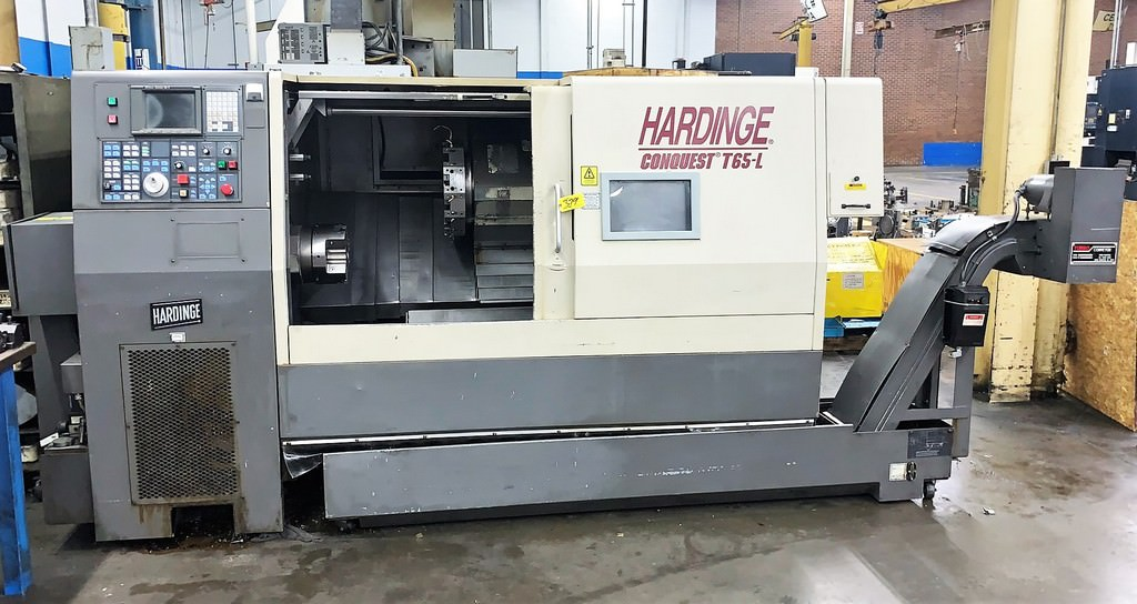 Hardinge-Conquest-T-65L-CNC-Turning-Center