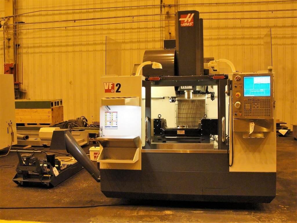 Haas-VF-2-CNC-Vertical-Machining-Center