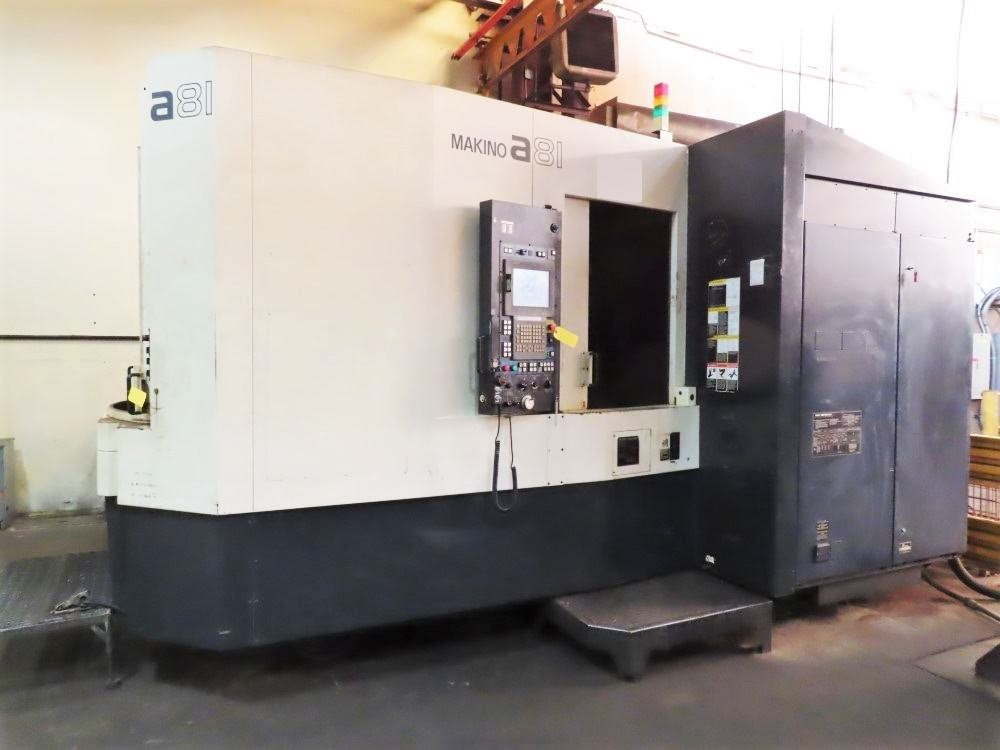 Makino-A81-4-Axis-CNC-Horizontal-Machining-Center