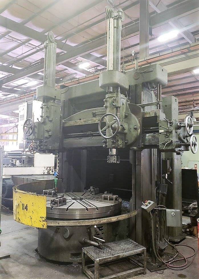 Schiess-71-Vertical-Boring-Mill-with-(2)-Rams
