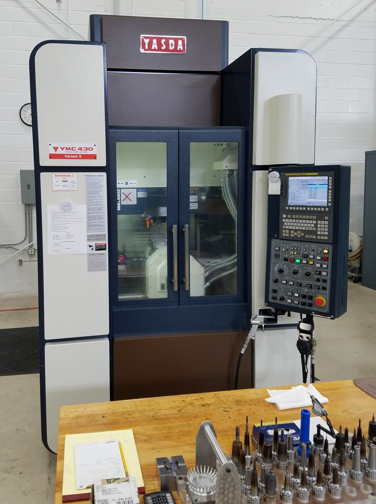 Yasda-YMC-430-5-Axis-High-Speed-High-Precision-CNC-Micro-Machining-Center