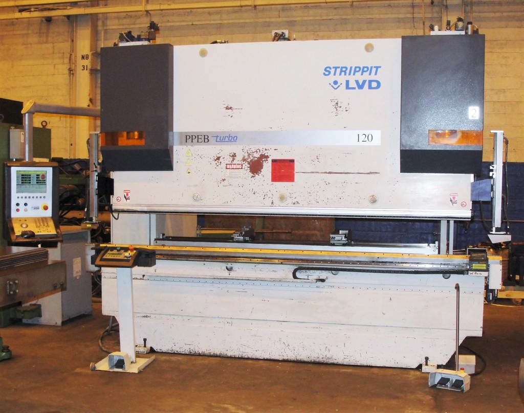 LVD-STRIPPIT-PPEB-120-BH10-120-Ton-8-Axis-CNC-Hydraulic-Press-Brake