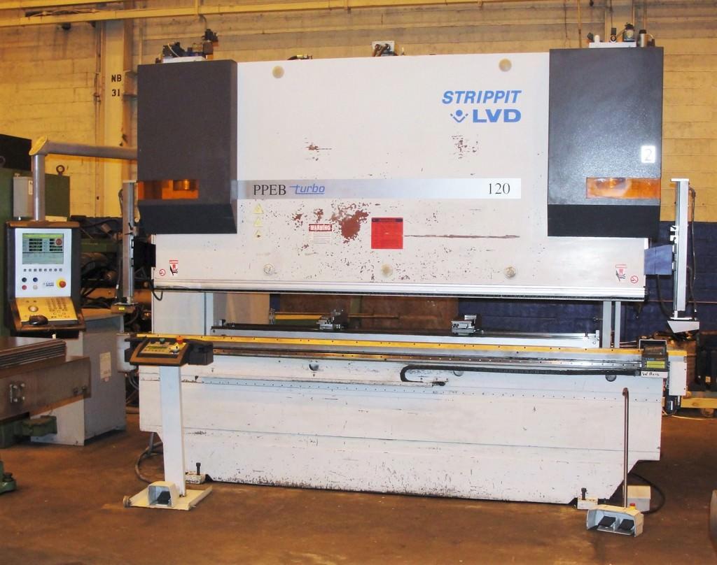 LVD-STRIPPIT-PPEB-120-BH10-120-Ton-8-Axis-CNC-Hydraulic-Press-Brake