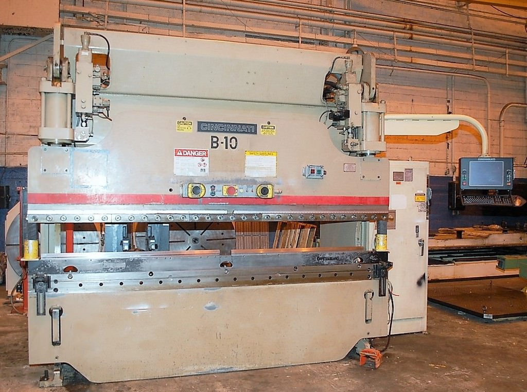 Cincinnati-90AFx8-90-Ton-CNC-Hydraulic-Press-Brake