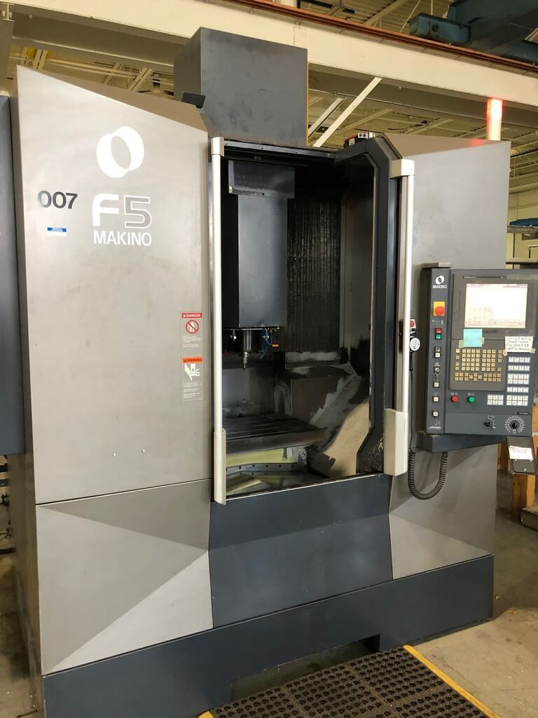 Makino-F5-High-Speed-CNC-Vertical-Machining-Center