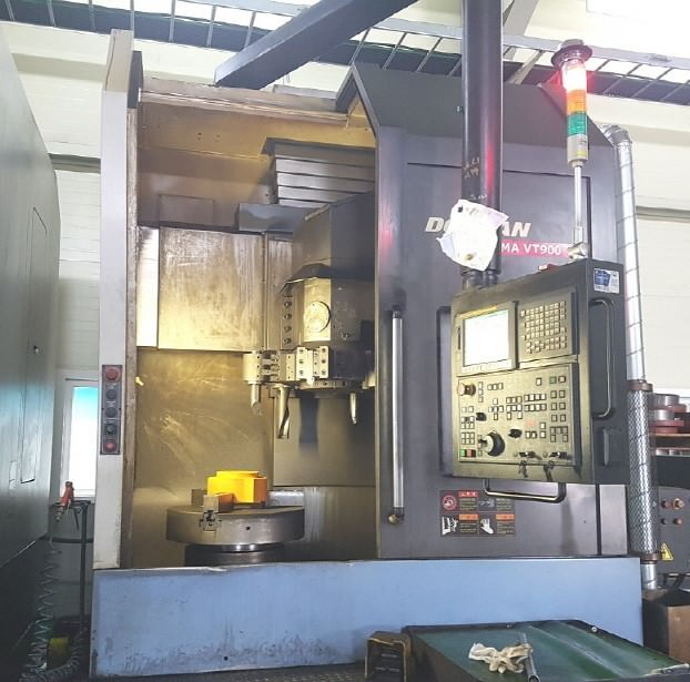 Doosan-VT-900-CNC-Vertical-Turning-Center