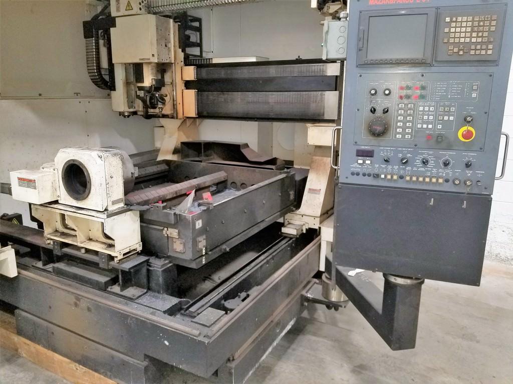 Mazak Space Gear U44 2500 Watt Laser