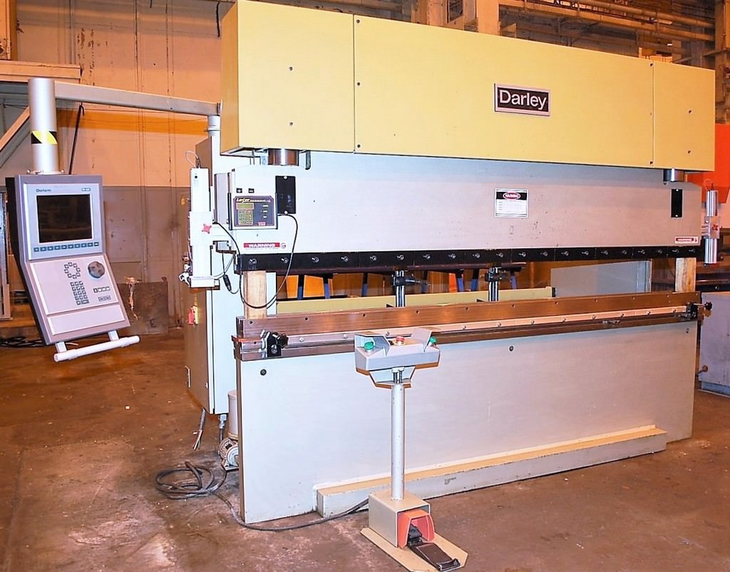 DARLEY-EHP-110-31-25-110-Ton-x-10-4-Axis-CNC-Hydraulic-Press-Brake