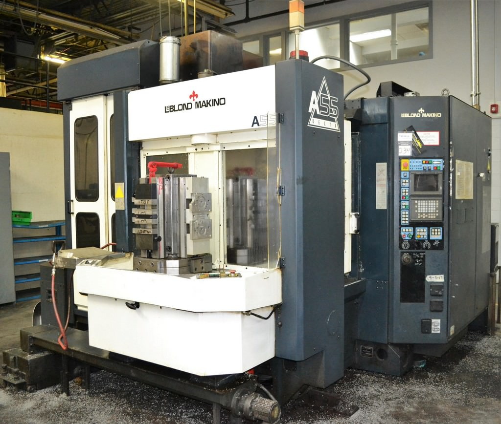 Leblond-Makino-A55-4-Axis-CNC-Horizontal-Machining-Center