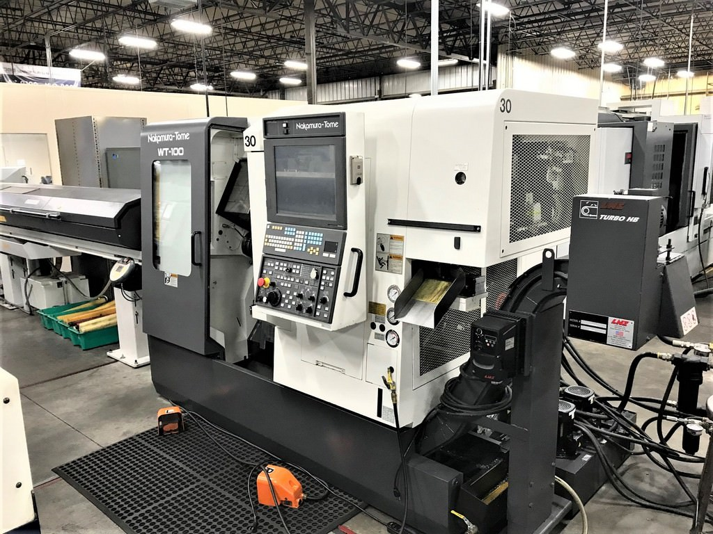 Nakamura-Tome-WT-100-9-Axis-CNC-Turning-Center