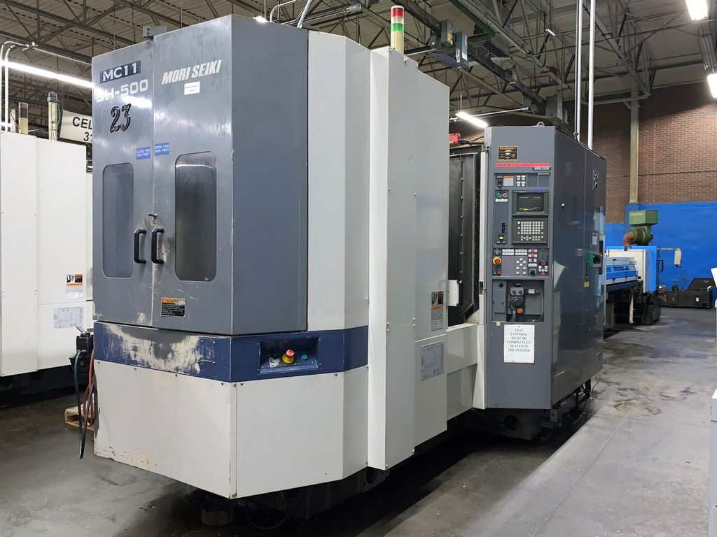 Mori-Seiki-SH-500-CNC-Horizontal-Machining-Center